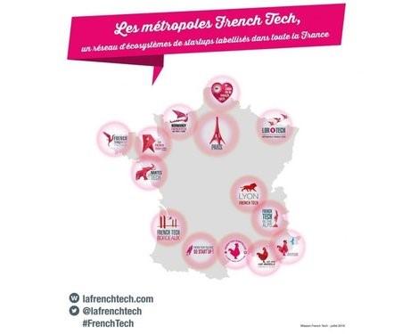 Les métropoles French tech