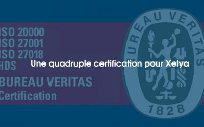 Une quadrule certification pour Xelya